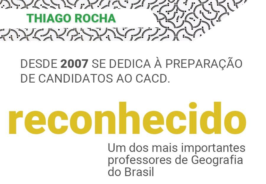 Geografia CACD 2020