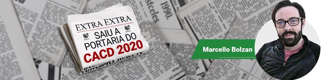 CACD 2020 portaria